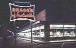 Bragg's Furniture at night
